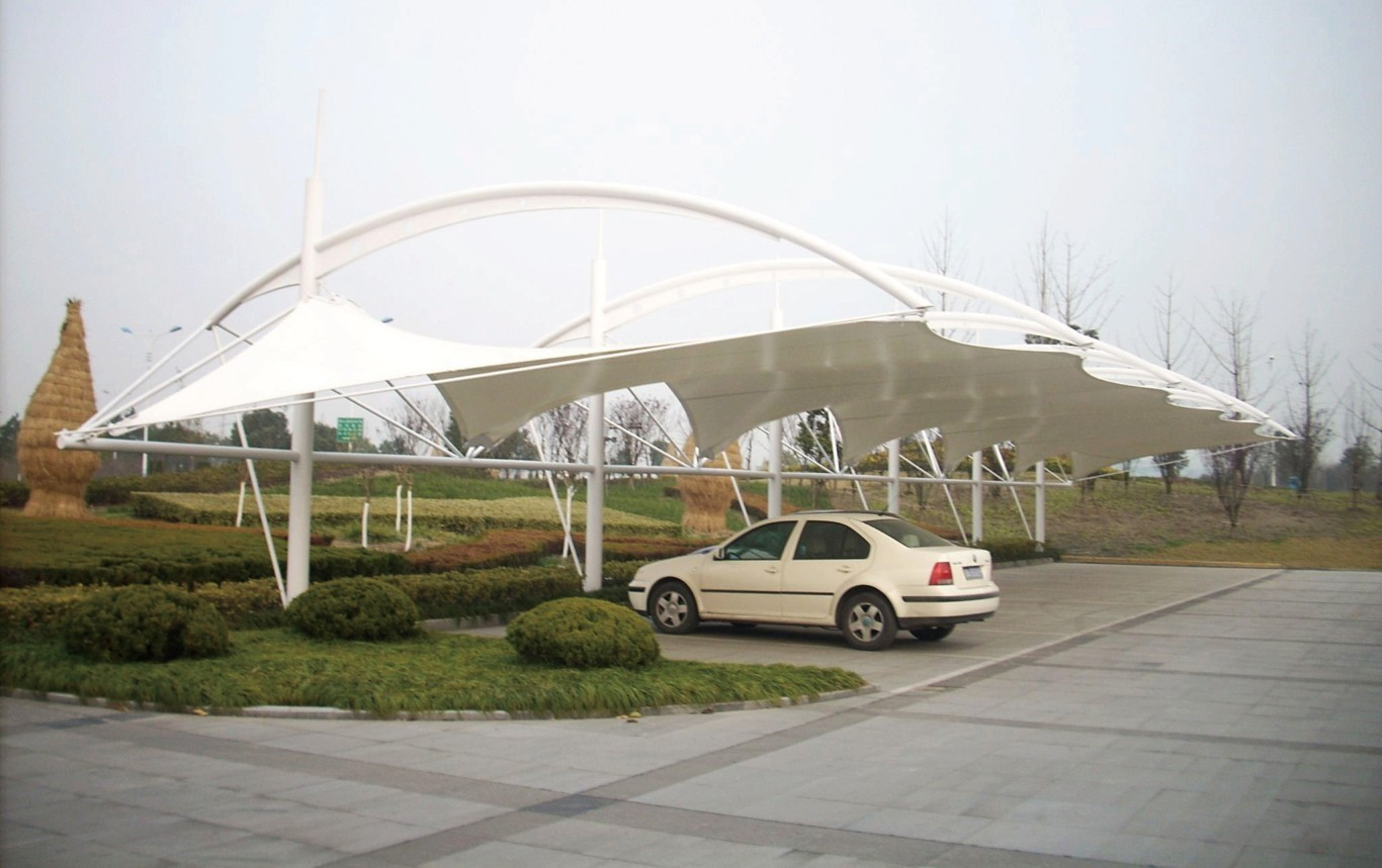 The Basic Characteristics and Advantages of Membrane Structure Parking Shade