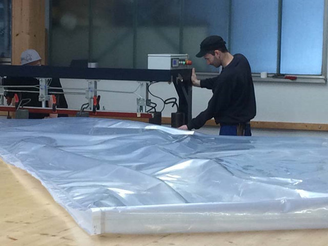 ETFE Fabric Membrane Welding