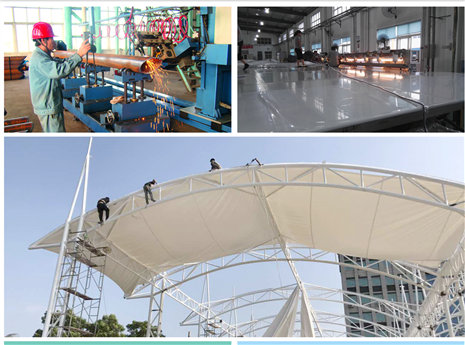 One-stop Membrane Structure Service Provider: Experienced and Professional