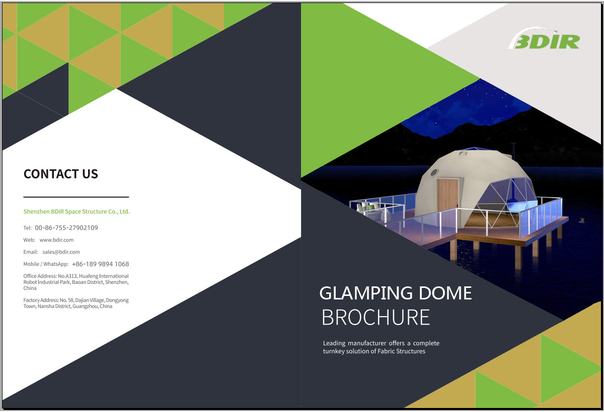 BDiR Catalog - Geodesic Dome Tent (Version 2020)