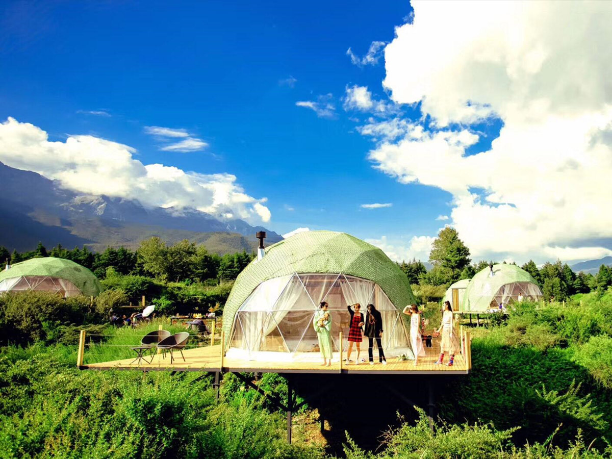 Glamping Dome Projects