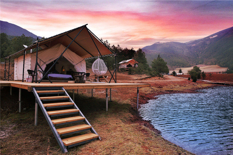 Put Go Glamping to Krimmler Wasserfaelle on Your Travel Bucket List in the Post-Covid-19 World