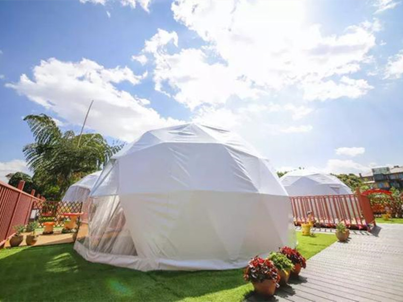 8m Camping Dome Tents Designed by BDiR