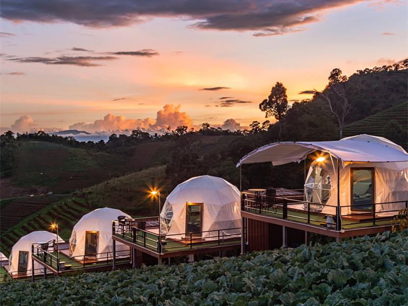 Bdir Geodesic Dome Tent Hotel,  New Hotel Model Back to Nature