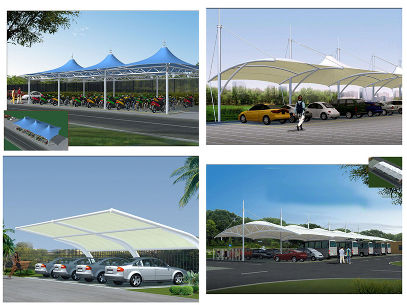 Membrane Shade Carports Plays an Important Role in Parking lots