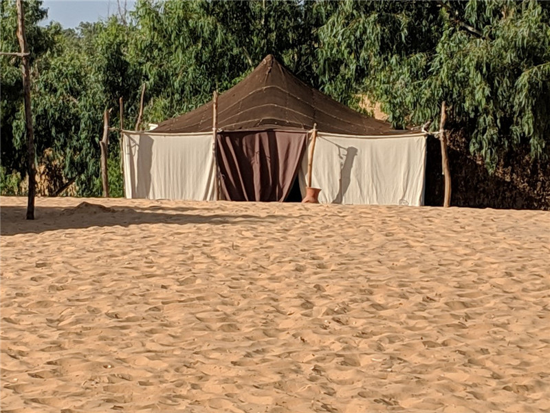 Eco Tourist Tent Resort in Senegal, West Africa