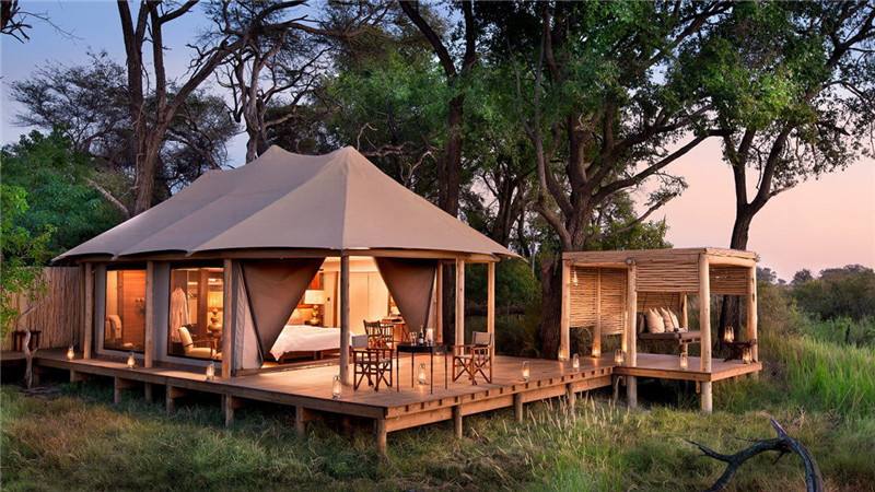 Glamping Tent House: Spending Time in Nature Should Not Mean Giving Up Comfort
