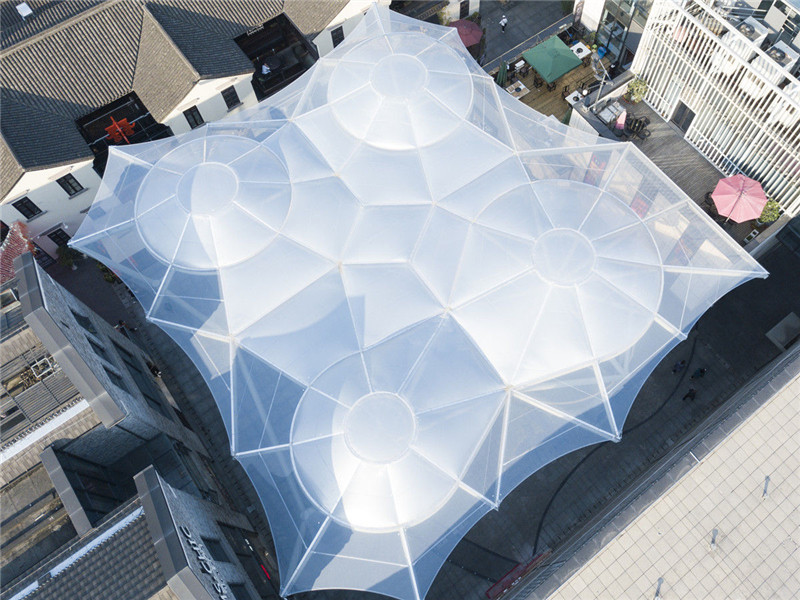 How to Clean the ETFE Textile Membrane Architecture