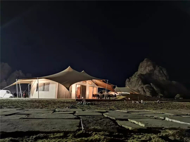 Luxury Tent Hotel Makes Your Guest's Stay at Al Ula More Glamorous