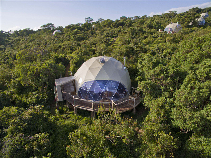 Tanzania's Geodesic Dome Suites Camp