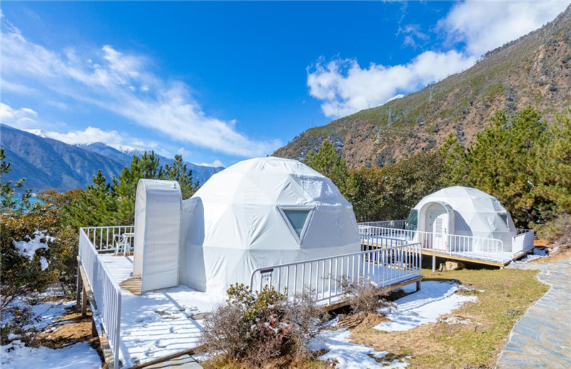 you need a geodesic dome to complete your stay in the epic bardenas reales