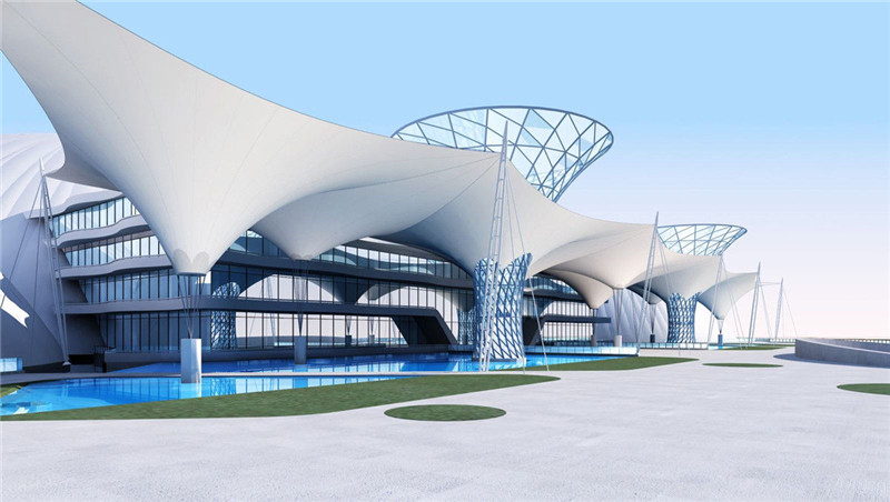 Fabric Tensile Roofing Structures-in Austria