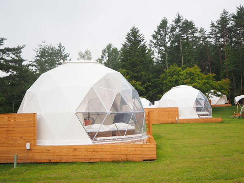 Geodesic Dome For Outdoor Camping