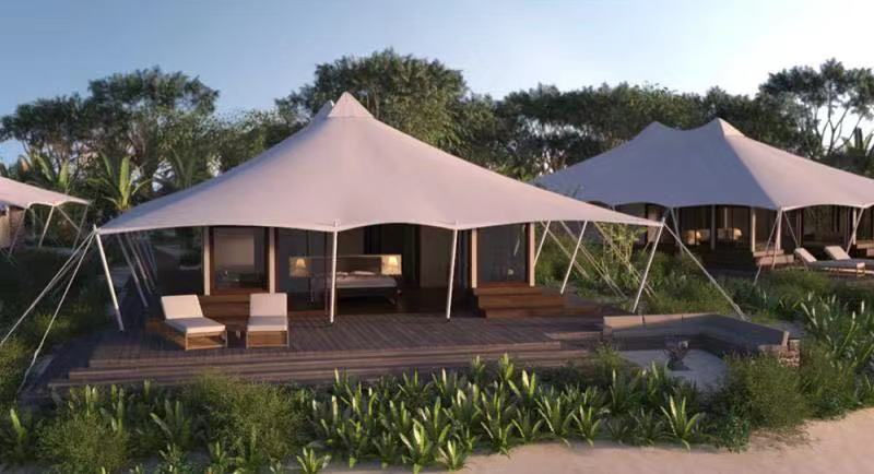 Luxury Glamping Tent has become mainstream Eco Hospitality Resorts