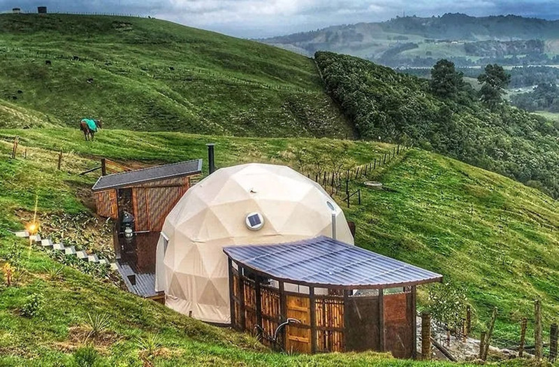 Luxury Nature Accommodation in Eco Friendly Glamping Dome