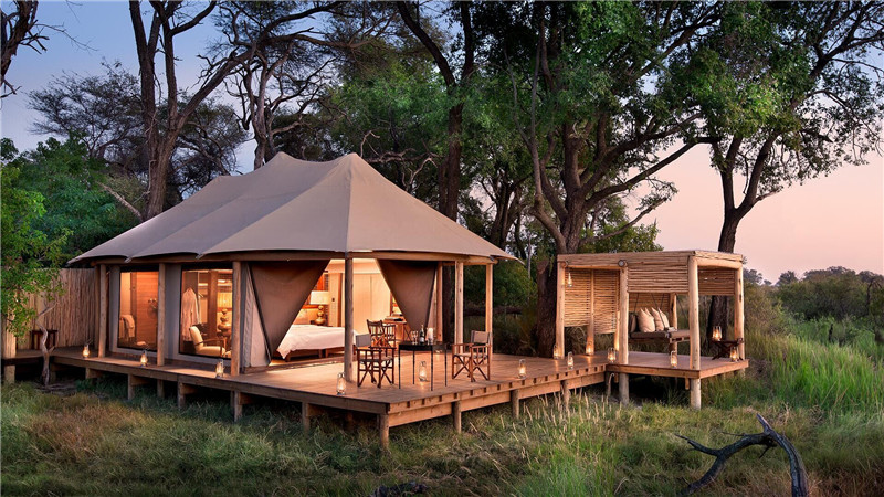 Safari Tent Camping Glamping Resort & Lodging - Africa