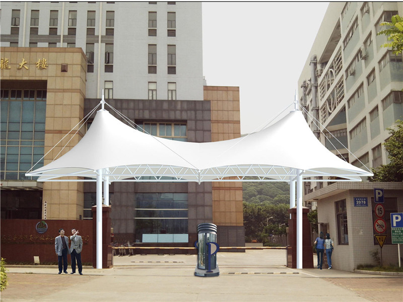 Supporting Facilities for Residential Areas with Modern Shade Structures in Gambia