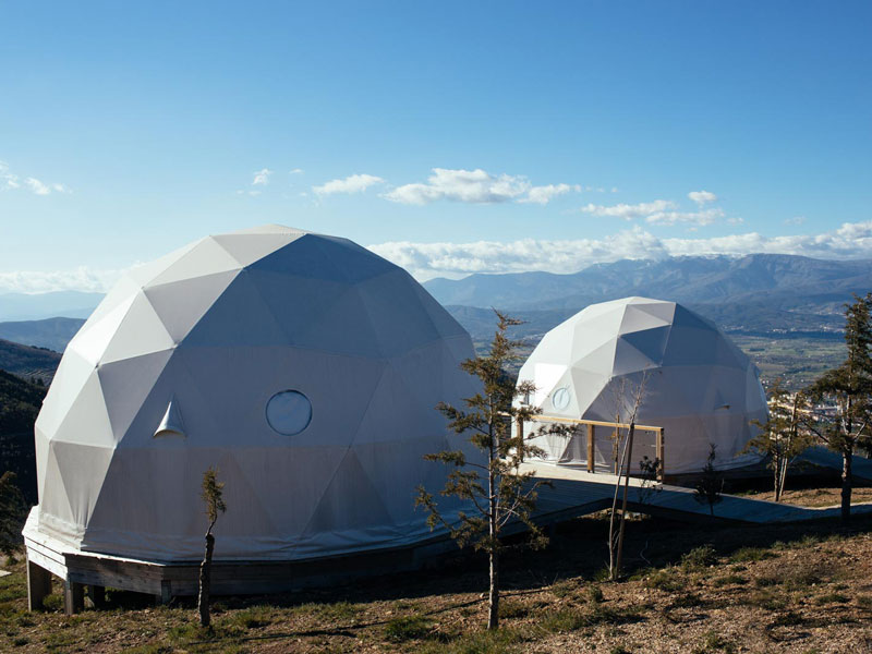 The Use Of The Geodesic Dome Tent