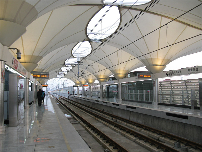 Why Transportation Facilities Choose Fabric Membrane for Shade Sails?