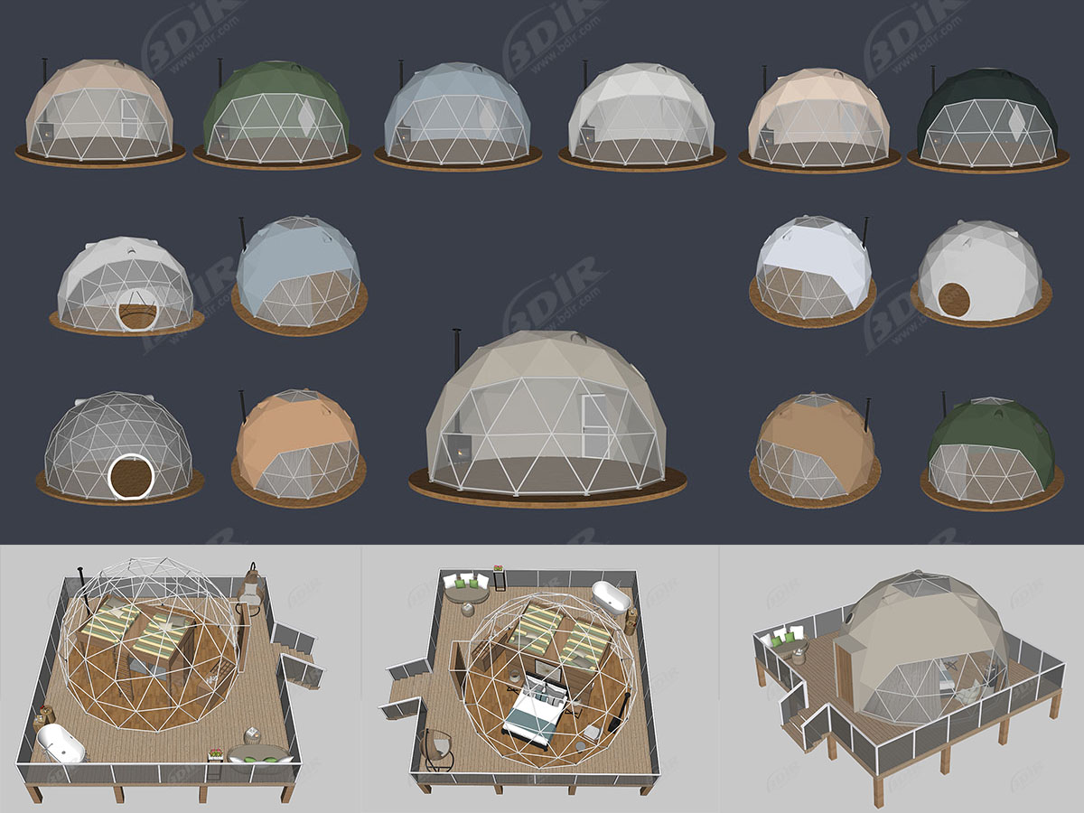 BDiR Catalog - Geodesic Dome Tent