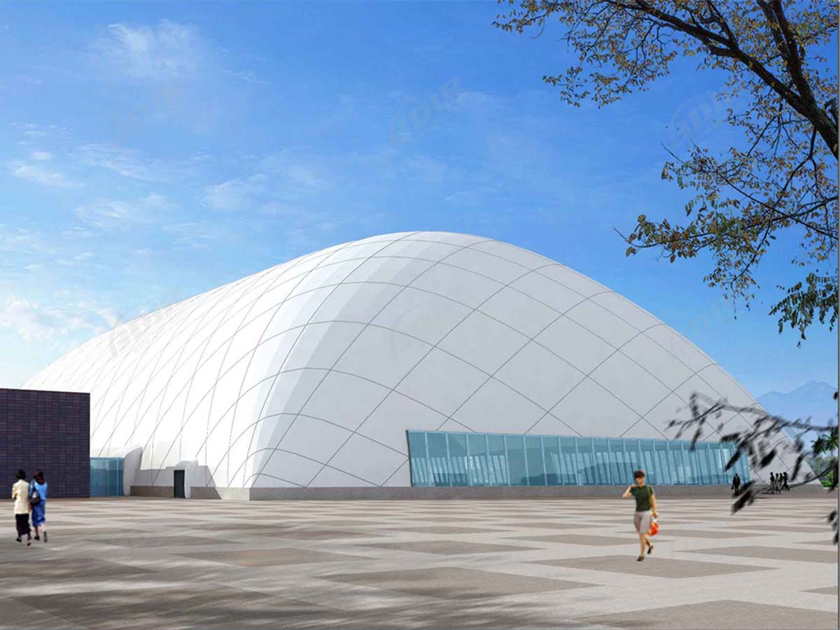 Air Support Dome for Green & Smart Sport Stadium-Soccer, Tennis, Pool, Volleyball