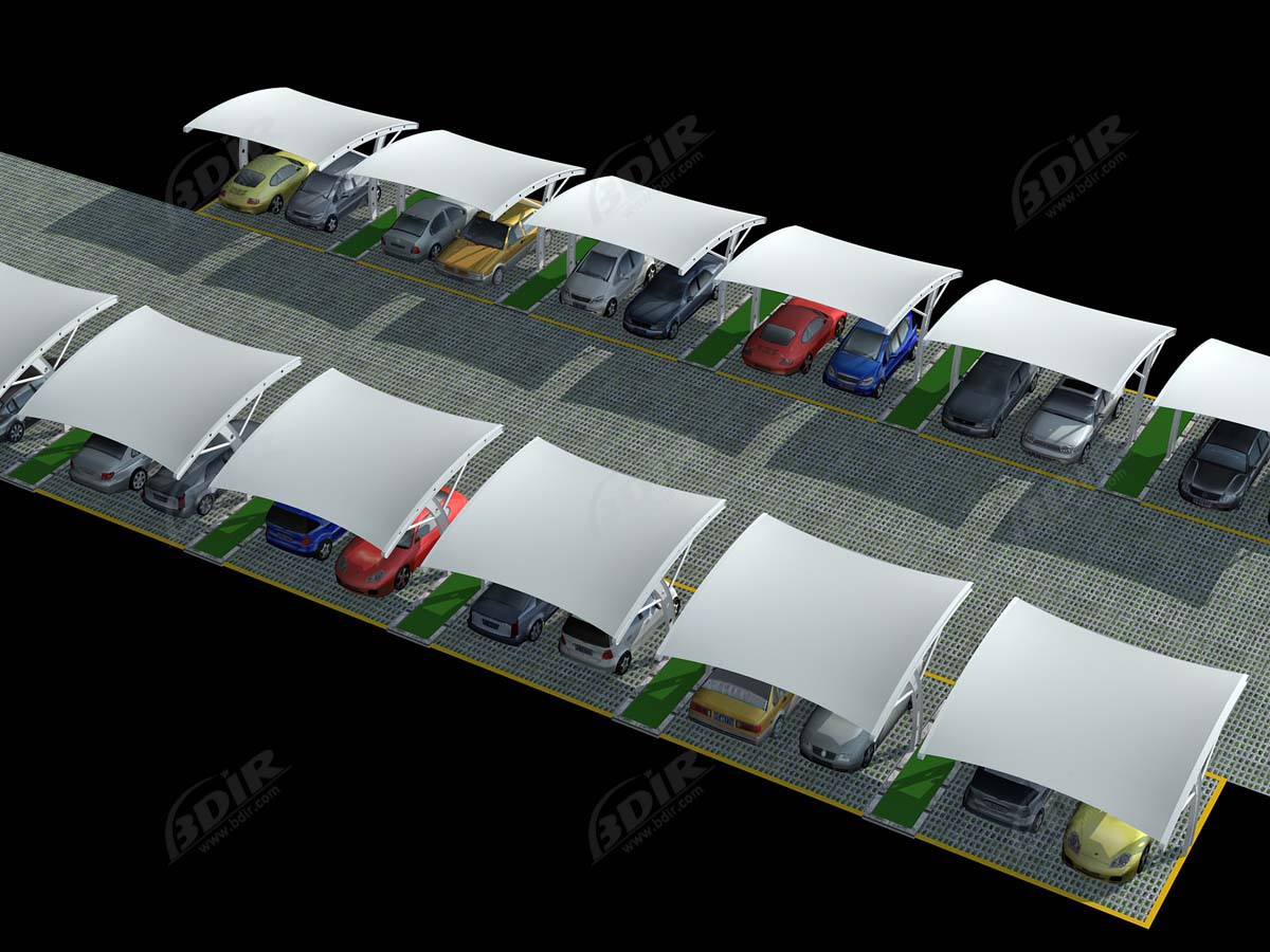 Arch Type Car Parking Sheds - Arch Design Car Parking Prices