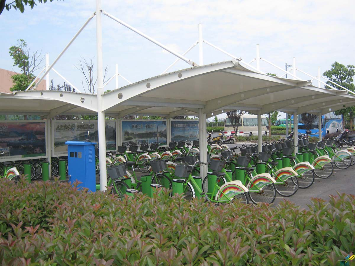 Customize Bicycle Parking Shade - Best Bike Shade, Shelters, Canopies