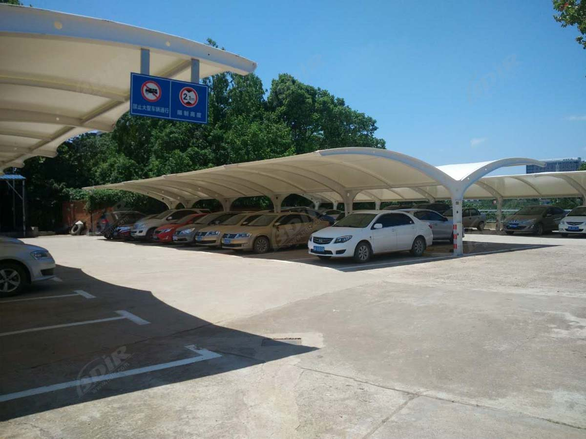 Cantilever Car Parking Cover Structures Suppliers - Double Bay Design