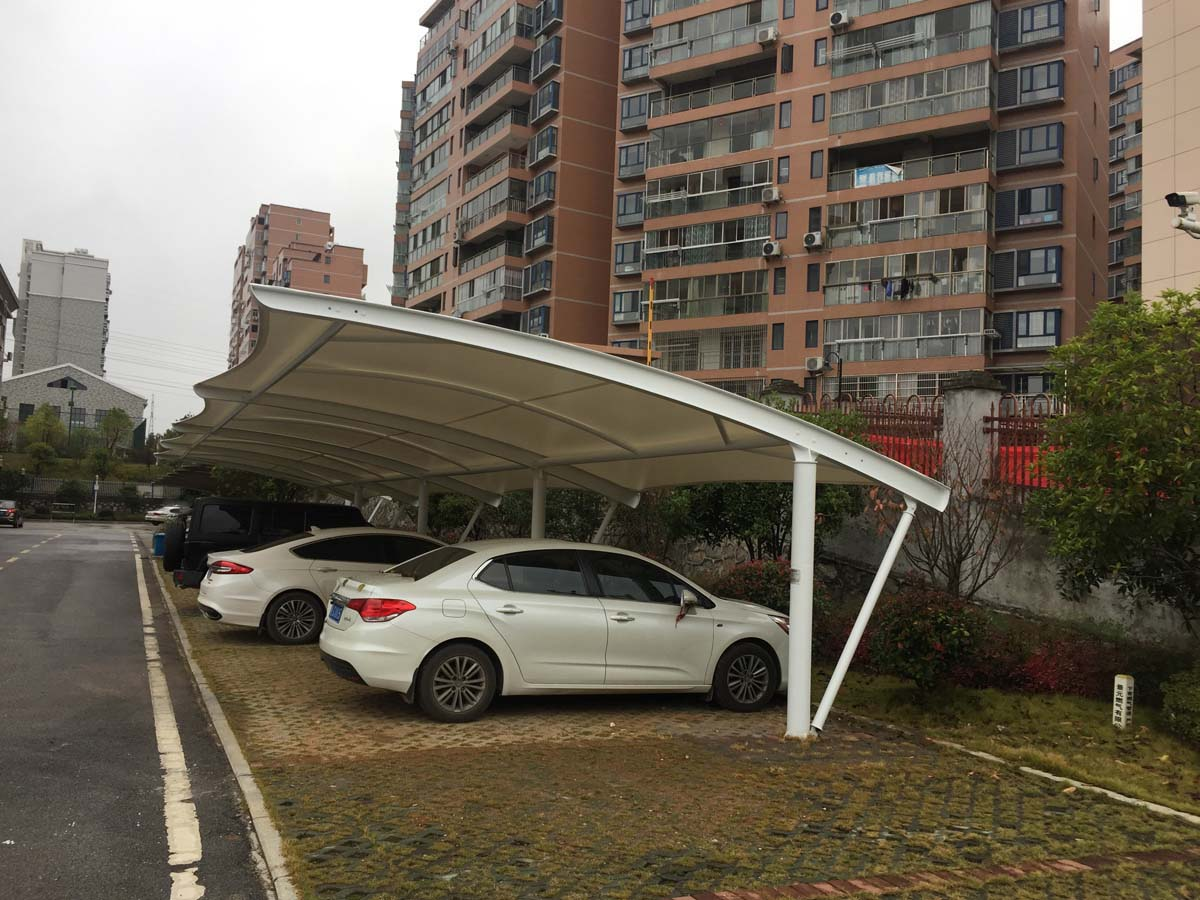 Cantilever Car Parking Sheds Structures Suppliers - Single Bay Design