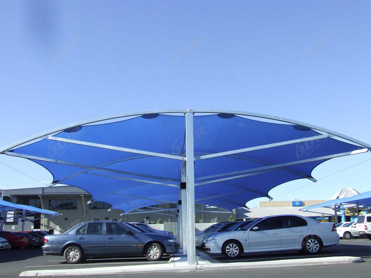 Car Parking Sail Shades - Best Car Park Sail Sheds Solutions
