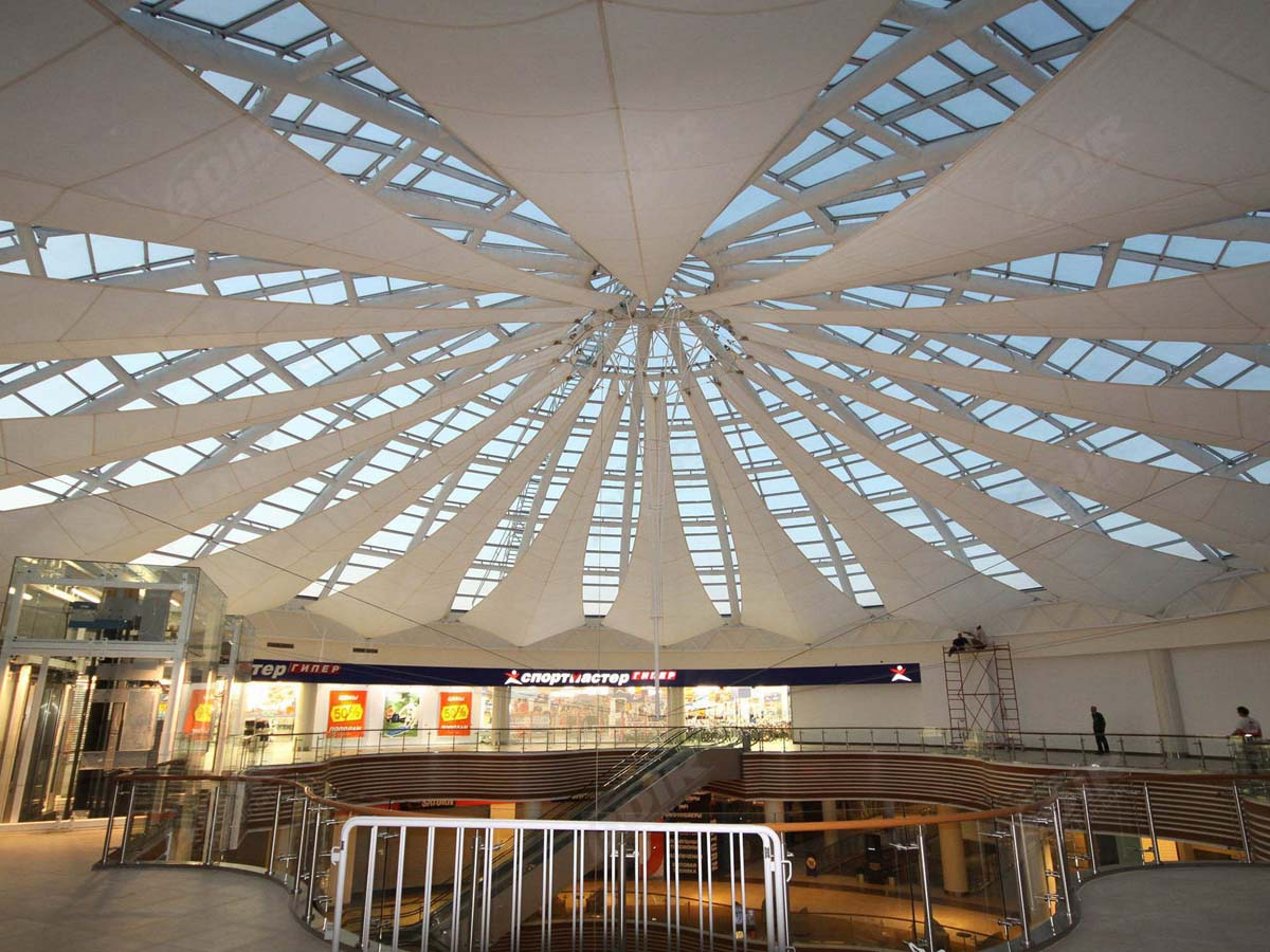 Custom Membrane Roofing Structures Pvc Ptfe Etfe Roof