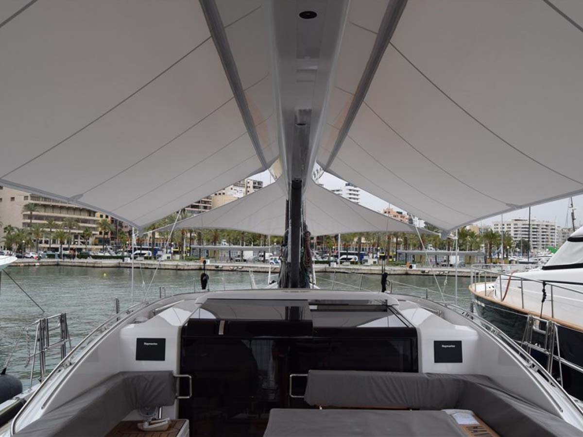Customize Fabric Tensile Structures for Cruises, Ferry, Passenger Ship
