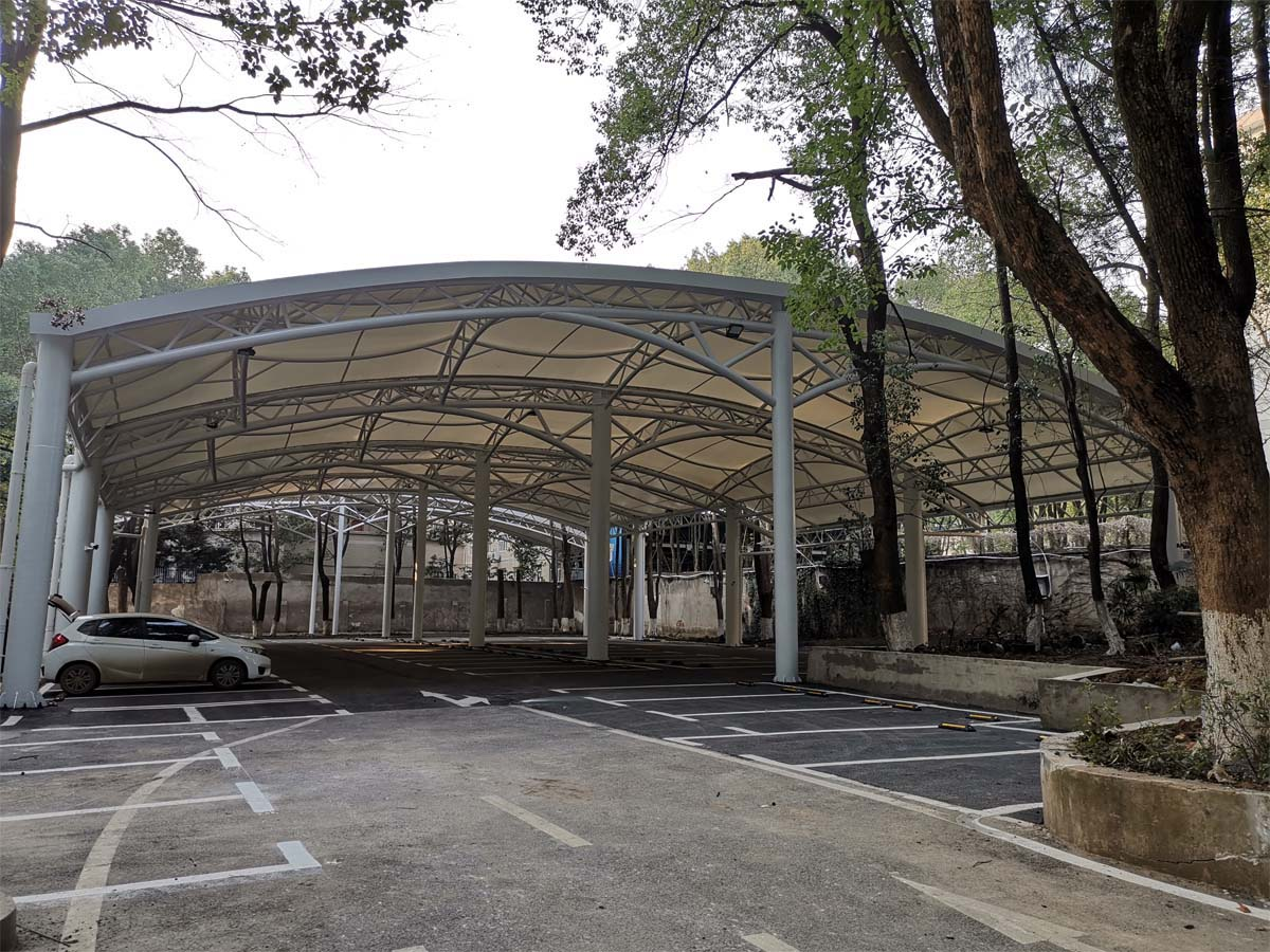 Customize Tensile Parking Structures for Mass Coverage Carparks