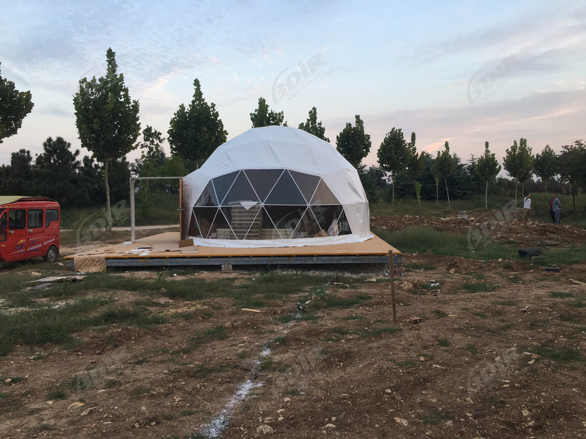 Dome Lodge | Geodome House | Geodesic Domes Tents - Design & Manufacturing