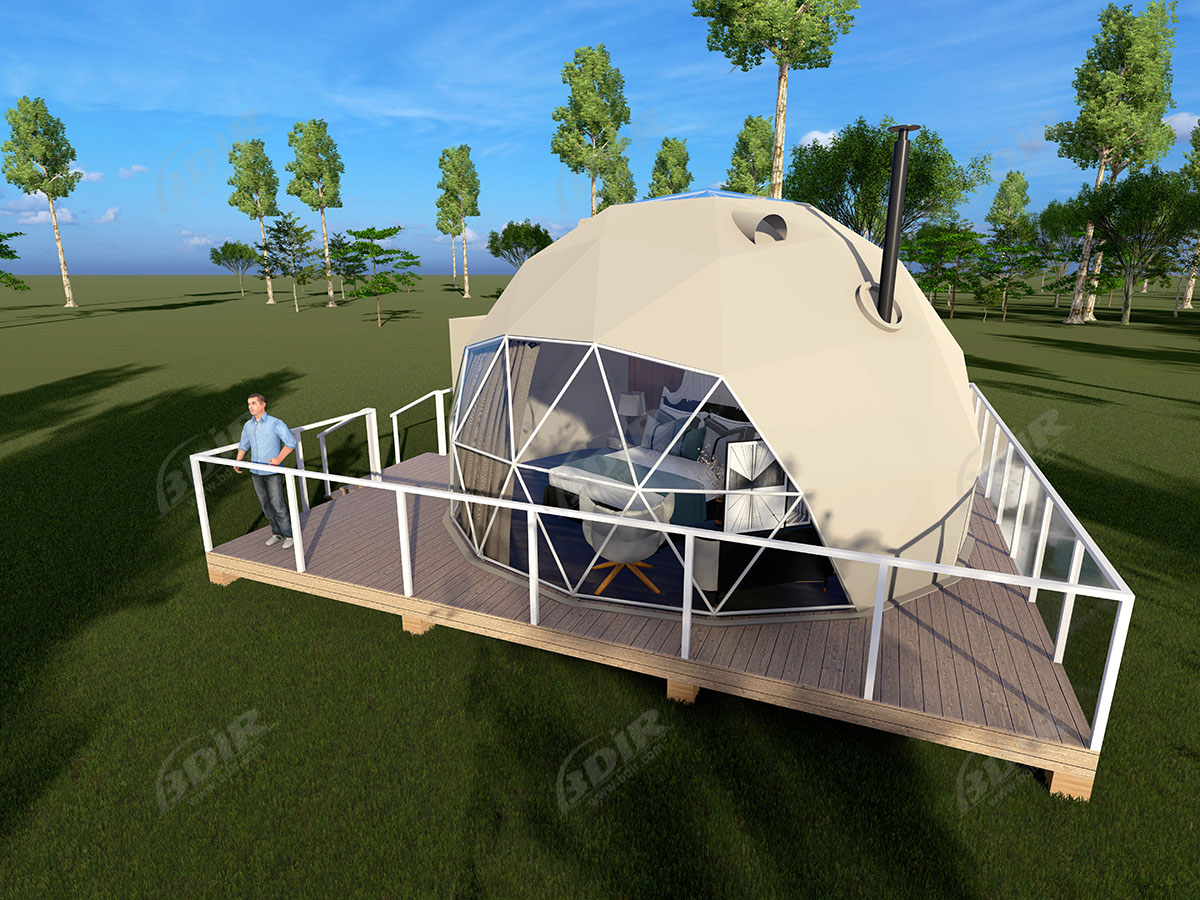 Dwell Camping Dome House Bubble Hotel for Eco Tourism Leisure & Resorts