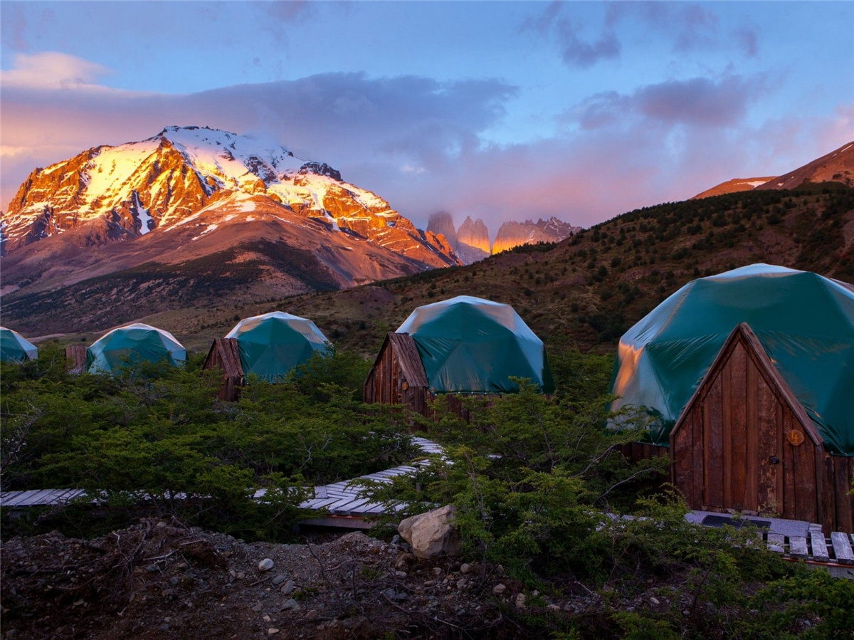 Hotel con Tende a Cupola Eco-Friendly | Patagonia Sostenibile Campeggio Cupole Resort