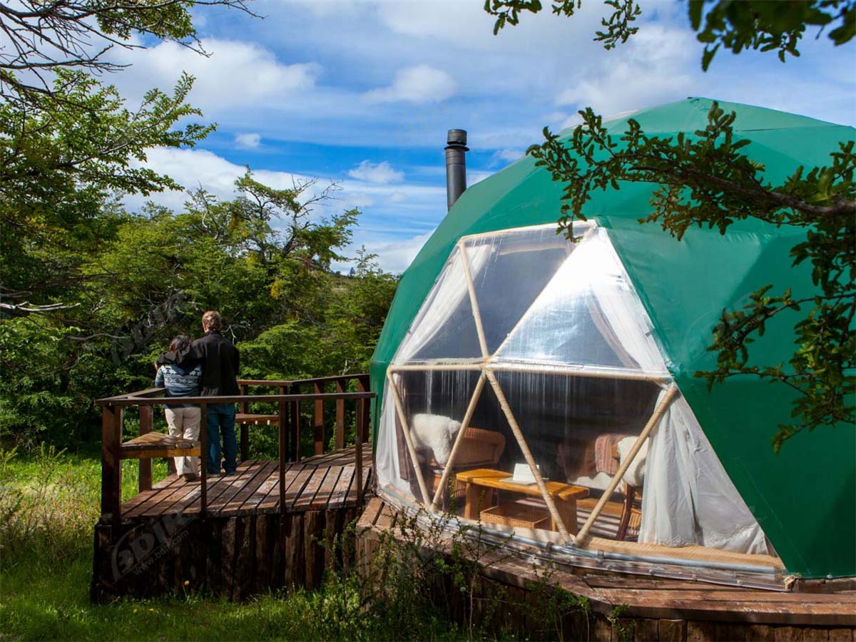 Eco Friendly Dome Tents Hotel | Patagonia Sustainable Camping Domes Resort