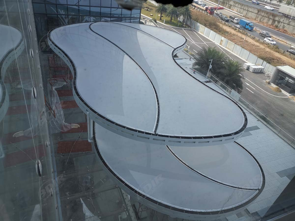 Etfe Foil & Film Architecture | Singe Etfe Roof Construction Material