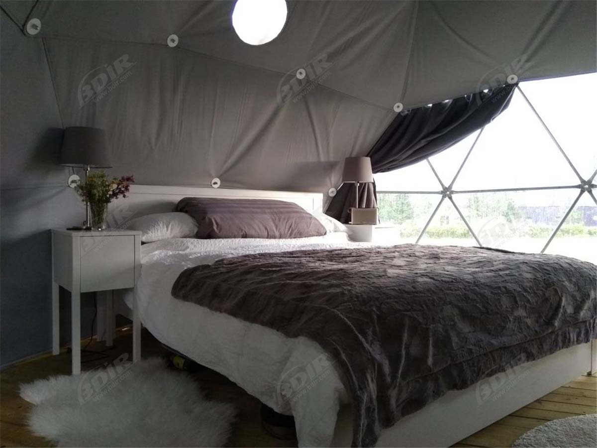 Experience Luxury & Nature Accommodation in Eco Friendly Glamping Dome Cabins