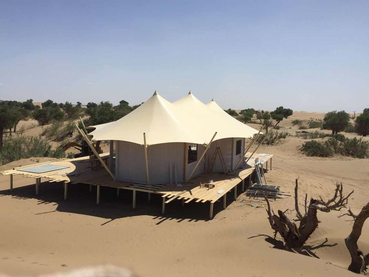 BDiR Inc. Provides a Complete Tent Hotel Solution
