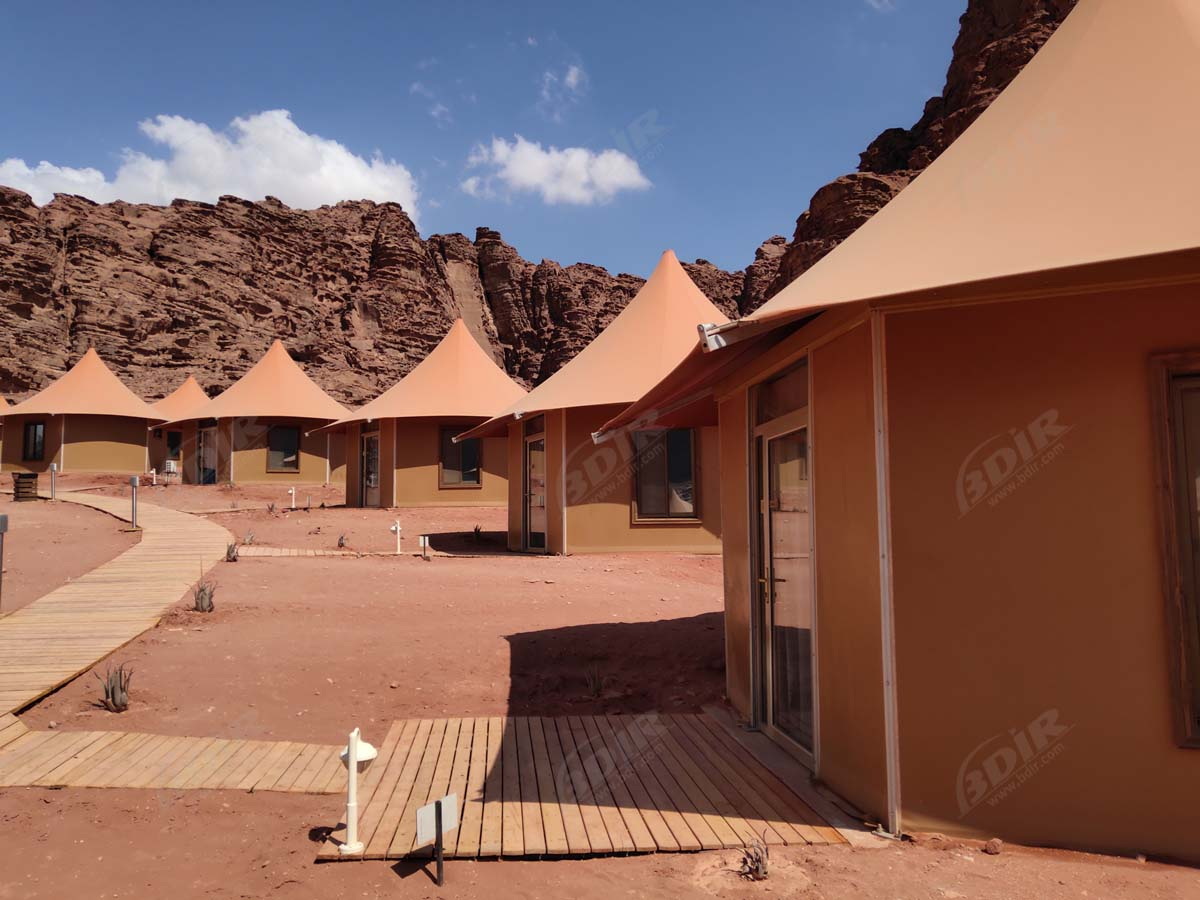 Oman Most Luxurious Iconic Desert Tent Resort, Canvas Desert Tents
