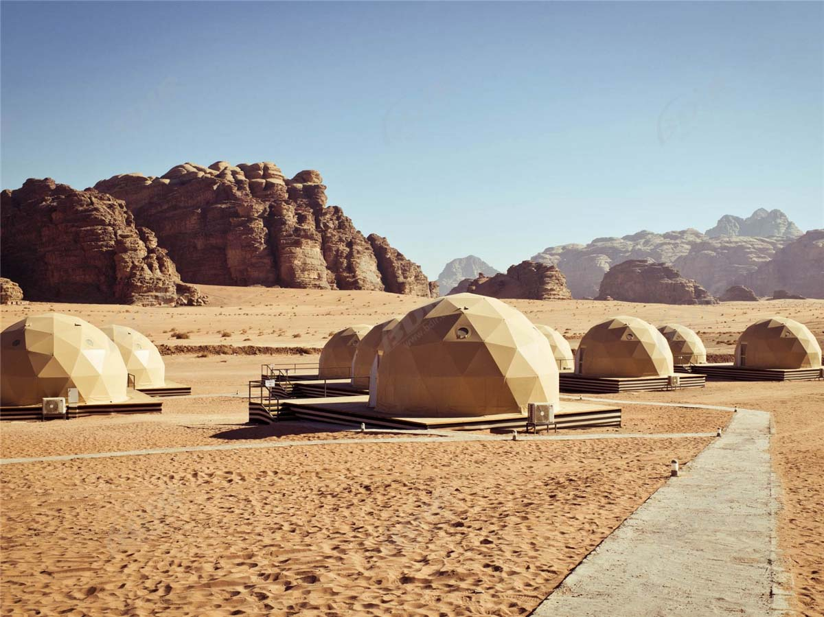 Geodesic Dome Hotel | Geodome Hotel | Eco Dome Hotel | Sun City Camp Kuppeln
