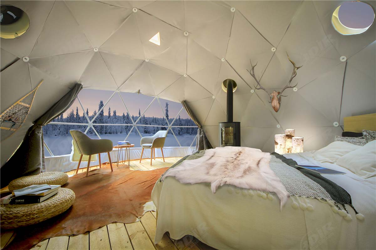 Geodesic Domes Pods Tent | Glamping Pods | PVC Dome Kits - Design & Manufacturing