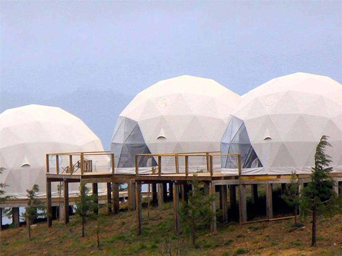 Tenda per Cupole glamping | Luxury Dome Homes - Portogallo