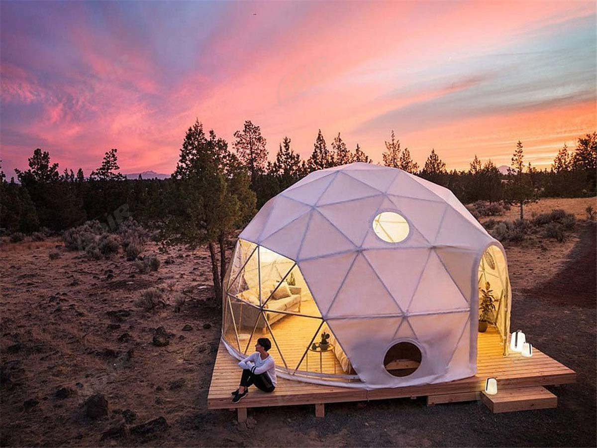 Glamping Geodesic Dome for Outdoor Stargazing - Dome Tent Design & Supplier