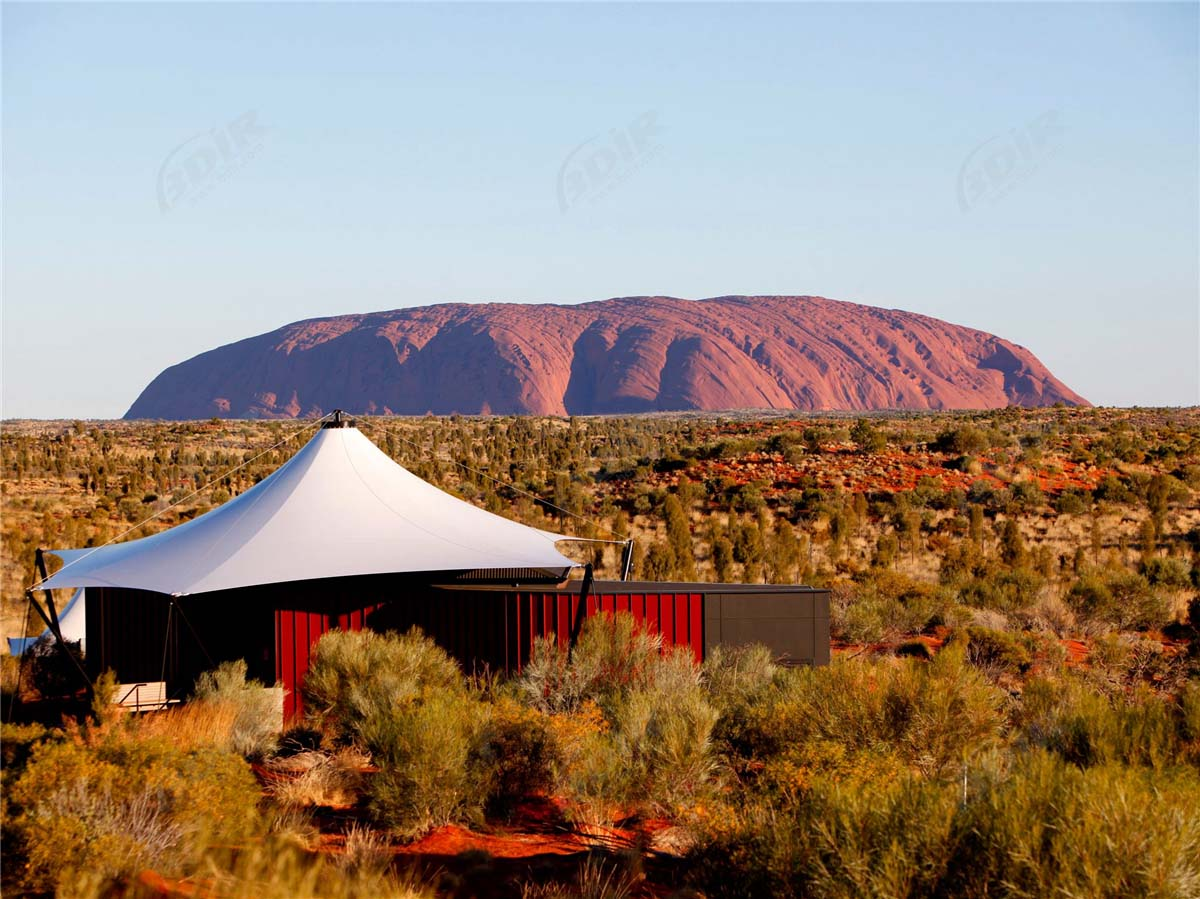 Glamping Tent Lodges | Luxury Desert Camping Site - Australia
