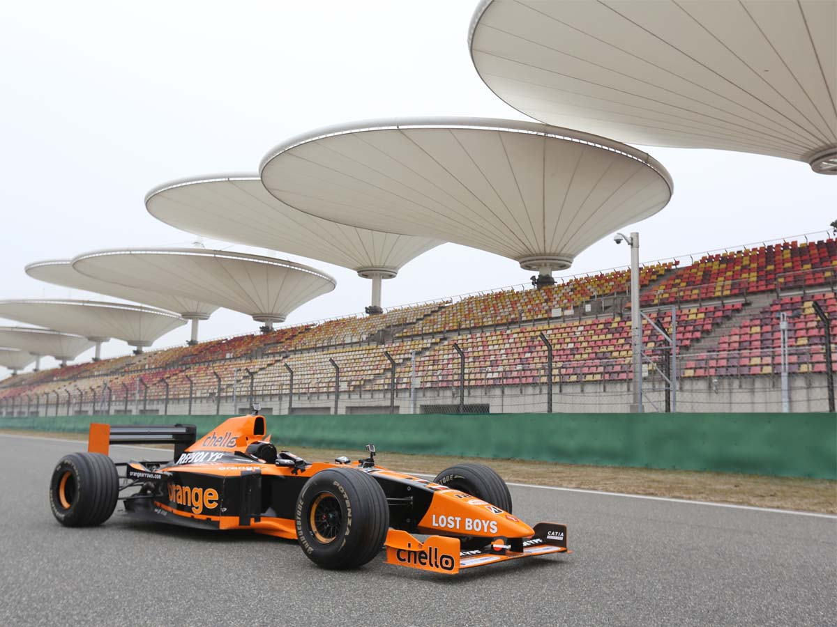 Grandstand Roofing Tensile Structures for F1 Race Track, Formula 1 Circuit