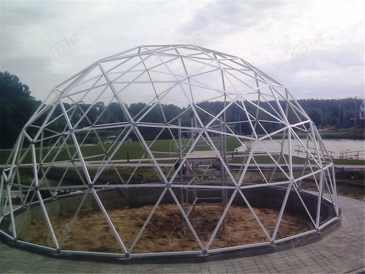 Greenhouse Domes, Geodesic Greenhouses, Geodesic Greenhouse Domes - Design & Supplier