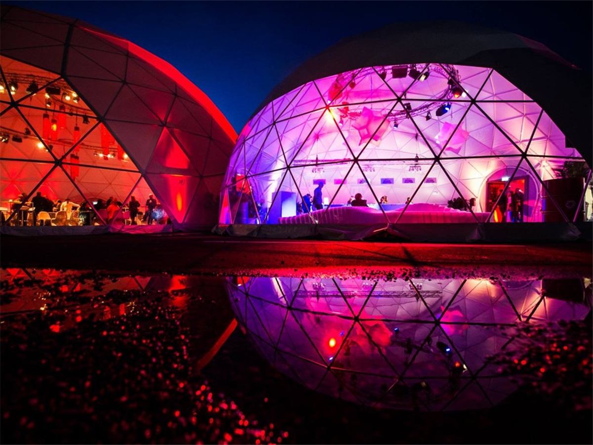 Immersive Dome, 360 Projection Dome, 3d Projection, Geodesic Domes Tent