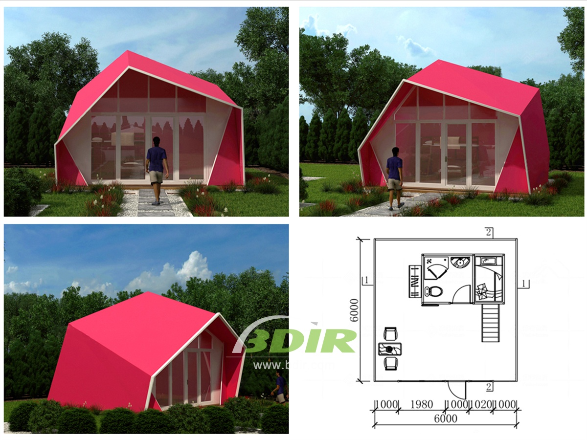 Luxurious Glamping Resort, Glamping Structures Lodges - Design & Manufacture